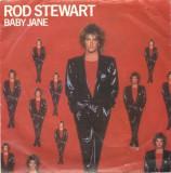"Rod Stewart - Baby Jane (1983, Warner) Disc vinil single 7"""