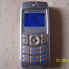 Telefon mobil MOTOROLA  C117  Defect