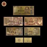 A2864 Thailand Thailanda 20 50 100 500 1000 baht Fantezie Aurita Aur Gold 24K