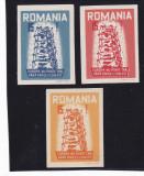 Spania/Romania, Exil romanesc., em. a VII-a, Europa 1956 (2), ned., 1956, MNH