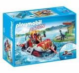 Playmobil Action, Ambarcatiune acvatica cu motor