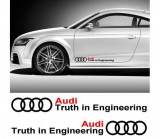 Sticker auto laterale AUDI (set 2 buc.)