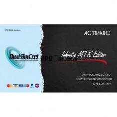 Activare MTK firmware editor pentru Infinity Box