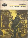 O scrisoare pierduta - I.L. Caragiale