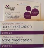 Acnee Benzaknen Pete Peroxide Benzoyl 10% 28 GR USA