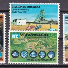 Botswana  1970   industrie  MI 58-61    MNH   w59