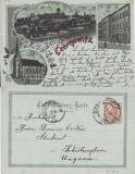 Cernauti , Bucovina - litografie