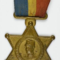 Medalie Generalul Averescu Munca Cinste Legalitate