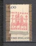 Finlanda.1980 Arta populara  KF.133, Nestampilat