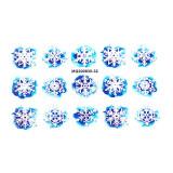 Tatuaj 3D Unghii LUXORISE Winter MG200830-32