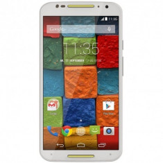 Telefon mobil Motorola Moto X (2nd Gen), 16 GB, XT1092, 4G, White and Sky Blue