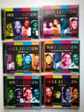 Lot 6 CD-uri Soul Legends. Muzica Soul/Jazz.
