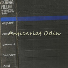 Dictionar Poligot De Industrie Si Tehnologie Chimica - C. D. Nenitescu