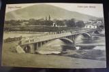 CP - Piatra Neamt - Podul peste Bistrita 1927
