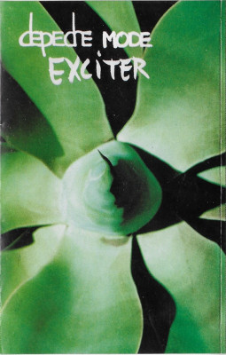 Caseta Depeche Mode ‎– Exciter, originala foto