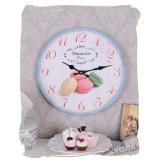 Ceas mare vintage cu macarons MHC071