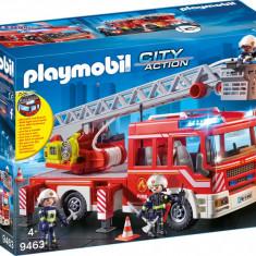 Playmobil City Action - Masina de pompieri cu scara