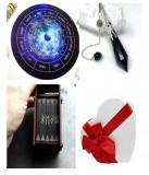 Cumpara ieftin Placa pendul - Astrologie ,Reiki+pendul+un set de rune cadou, Swarovski