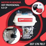 Motor pe benzina DDT Profesional 6.5 Cp, 4 timpi, 160 CC, Rosu, 3.5 L Rezervor