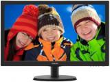 Monitor TN LED Philips 21.5inch 223V5LHSB2/00, Full HD (1920 x 1080), VGA, HDMI, 5 ms (Negru)