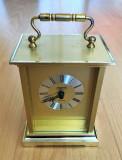 Ceas de masa / semineu / retro - alama - Quartz - Weggerle - functional