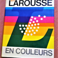 Petit Larousse En Couleurs. Editia 1980 - Librairie Larousse, Paris, Alta editura