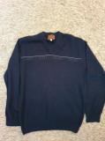 Pulover albastru inchis size XL