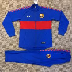 Trening cu pantaloni conici pentru copii FC BARCELONA 7-14 ani model 2019-2020