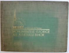 MONUMENTELE ISTORICE ALE JUDETULUI BIHOR - CORIOLAN PETRANU SIBIU 1931, DEDICATIE foto
