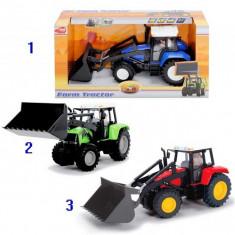 Tractor Farm cu cupa mobila 3474583 Dickie