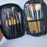 Set / Trusa / Kit 12 Pensule Profesionale BOBBI BROWN Cu Borseta + Oglinda