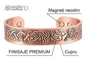 Brăţară Magnetică Energetică CUPRU - cod BRA044