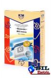 Sac aspirator Rowenta ZR814, sintetic, 3X saci, K&M