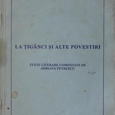 LA TIGANCI SI ALTEPOVESTIRI TEXYTE LITERARE COMENTATE - MIRCEA ELIADE