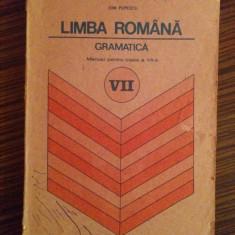 Manual de Limba Romana si Gramatica, clasa a VII-a - Ion Popescu