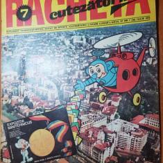 revista pentru copii - racheta cutezatorilor iulie 1972