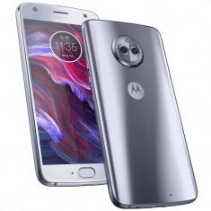 Smartphone Motorola Moto X4 64GB Dual Sim 4G Blue, Neblocat, 1080x1920 pixeli (FHD)