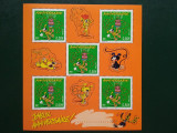 2003-Franta-timbre aniversare-colita bloc-MNH