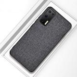 Cumpara ieftin Husa telefon Huawei P40 TPU din textil Gri