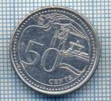 AX 551 MONEDA- SINGAPORE - 50 CENTS -ANUL 2013 -STAREA CARE SE VEDE, Africa