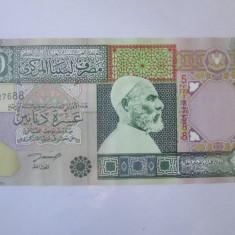 Cumpara ieftin Libia 10 Dinars 2002 UNC