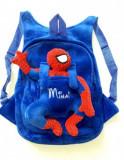 Ghiozdan plus personalizat Spiderman