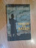 W0d POVESTIRI DIN RAZBOI - MIHAIL SADOVEANU