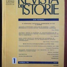 Revista de istorie 1/1977