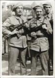 Poza garzi patriotice romani cu pistol mitraliera cehoslovac Sa 23 Bucuresti