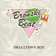 """Bronski Beat - Smalltown Boy (1984, Metronome) Disc vinil single 7"""""""
