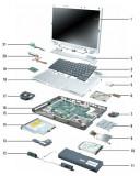Dezmembrez laptop ASUS X55A