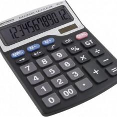 Calculator electronic de birou, solar, 12 digits, Esperanza Tales
