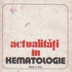 Actualitati in hematologie