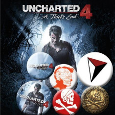Insigna - Uncharted 4 - mai multe modele | GB Eye